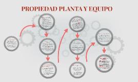 PROPIEDAD PLATA Y EQUIPO
