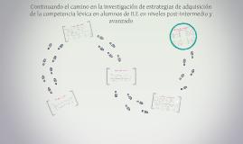 Copy of Avanzando en el camino de la investigación de estrategias