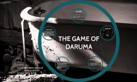THE GAME OF DARUMA