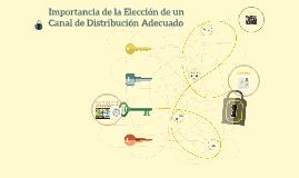 Importancia de la Elección de un Canal de Distribución Adecu