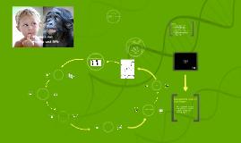 Der Vergleich von Mensch und Affe