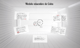 Copy of Modelo educativo de Cuba