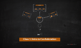 Class 1: Intro to Confederation