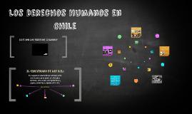 Copy of Los Derechos Humanos en Chile