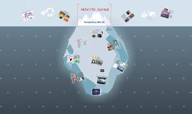 Antarctic Journal Vocabulary