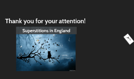 Superstitions in England