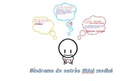 Sindrome de estrés tibial medial