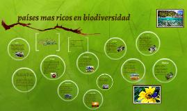 Copy of países mas ricos en biodiversidad