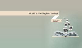 To Kill a Mockingbird Collage