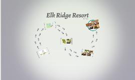 Copy of Elk Ridge Resort