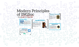 Modern Principles of INGSoc