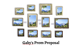 Gaby's Prom Proposal