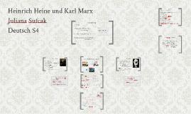 Heinrich Heine und Karl Marx