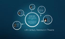 17th Century Restoration Comedy