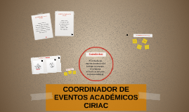 Copy of ORGANIZACIÓN DE EVENTOS ACADÉMICOS