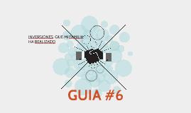 GUIA #6