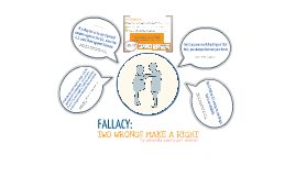 Critical Thinking: Two Wrongs Make a Right Fallacy
