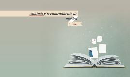 analisís y recomendacion de medios