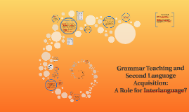 Copy of Grammar Teaching and Second Language Acquisition: