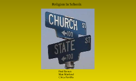 Copy of Religion In Schools: Chapter 7