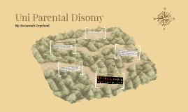 Uni Parental Disomy