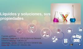 Líquidos y soluciones, propiedades
