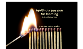 Igniting a passion for learning