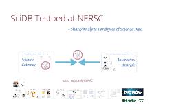 XLDB SciDB NERSC poster