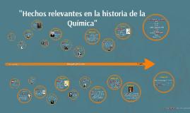 """""""La historia de la Química"""""""
