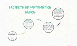 Proyecto de matemática básica