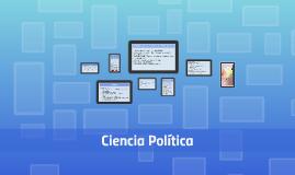 MATERIAS QUE COMPRENDE LA CIENCIA POLÍTICA