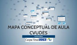 MAPA CONCEPTUAL  DE LAS HERRAMIENTAS DE LA AULA CVUDES