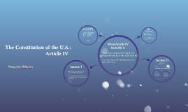 U.S. Constitution:
