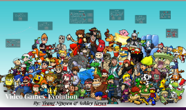 Video Games throughout the years