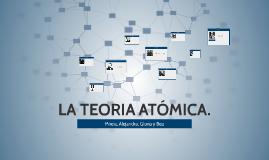 LA TEORIA ATÓMICA.