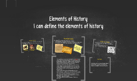 Copy the Elements of History