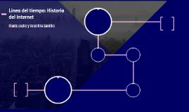 Linea del tiempo: Historia del internet
