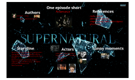 Supernatural - the series to share with friends! :)