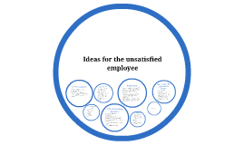 Opportunities for the unsatisfied employee