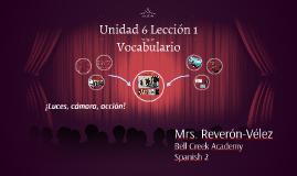 Unidad 6 Lección 1