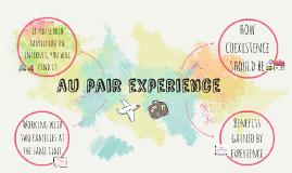 Aupair experience
