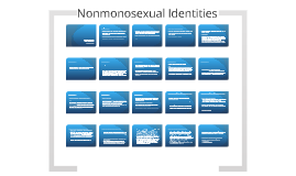 Nonmonosexual Identities