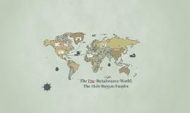 The Pre-renaissance world;