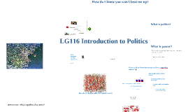 Lecture 1 LG116