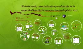 2017 Síntesis verde, caracterización y evaluación de la capacidad