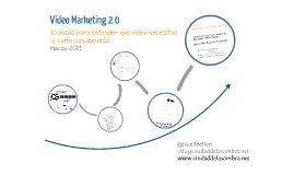 Vídeo Marketing 2.0