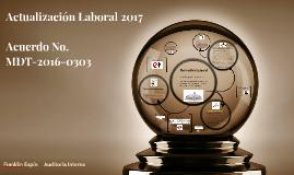 Acuerdo No. MDT-2016-0303