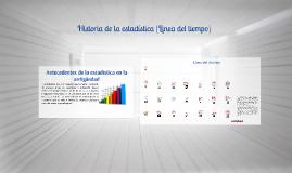 Copy of Historia de la estadistica (Linea del tiempo)