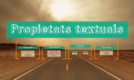 Propietats textuals