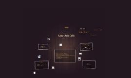 Copy of Lead-Acid Cells